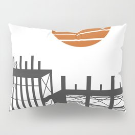 City in construction Pillow Sham