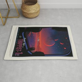 Visions of the Future: Trappist-1e Rug