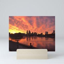 Beautiful Things Happen in Philadelphia  Mini Art Print