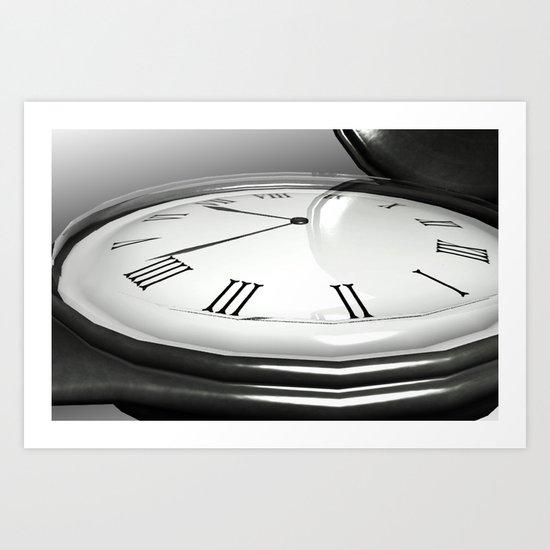 Stopwatch Art Print