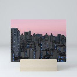 Skyline IV Mini Art Print