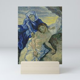 Pietà (after Delacroix) Mini Art Print