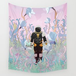 Collecting Samples Wall Tapestry