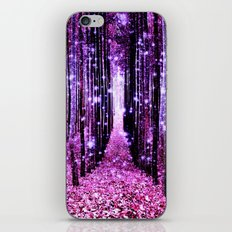 Magical Forest Pink & Purple iPhone & iPod Skin