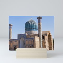 Timur mausoleum - Samarkand Mini Art Print