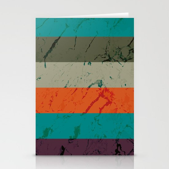 Marble Tiles Stationery Cards