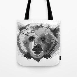 BEAR CUBISM Tote Bag