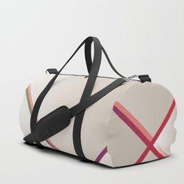 Rainbow Grids Duffle Bag
