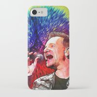 u2 iPhone & iPod Cases featuring U2 / Bono 3 by JR van Kampen