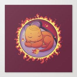 Hidden in the Fire Canvas Print