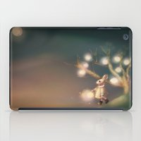 lanterns iPad Cases featuring Lanterns by Claire Westwood illustration