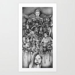 Metaphors - Youtubers Art Print