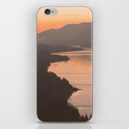 Pacific Northwest Sunrise - nature photography iPhone Skin