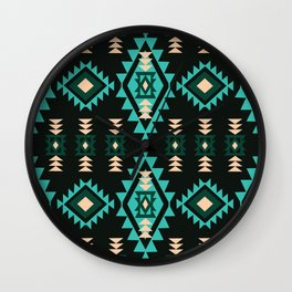 American Native Pattern No. 39 Wall Clock