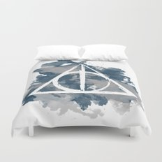 The Deathly Hallows (Ravenclaw) Duvet Cover
