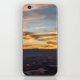 Island in the Sky Sunset II iPhone Skin