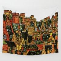 edinburgh Wall Tapestries featuring Edinburgh by dacarrie