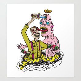 War With Self Art Print