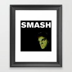 Johnny Smash Framed Art Print