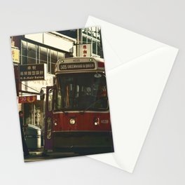 505 Dundas Streetcar China Town Stationery Cards