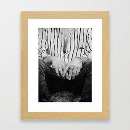 Harry hands Framed Art Print