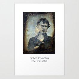 The First Selfie Art Print