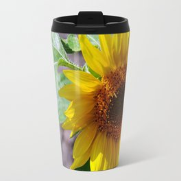 sunflower glow Travel Mug