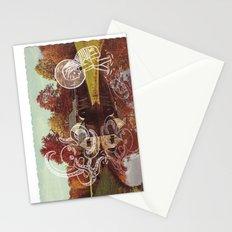 Old postcard Stationery Cards