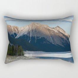 Scenic Mountain Photography Print Rectangular Pillow