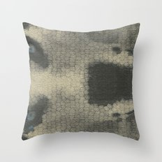 Just a lil husky. Throw Pillow