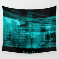 berlin Wall Tapestries featuring Berlin by Laake-Photos