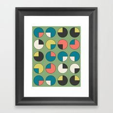 Pie Green Framed Art Print
