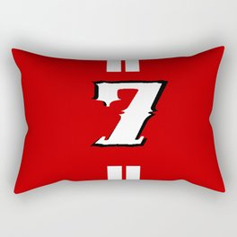 sacred jersey number Rectangular Pillow