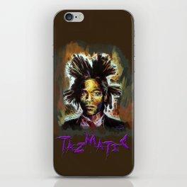 Jean Basquiat iPhone Skin
