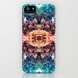 Acid Tropic Kaleidoscope iPhone Case