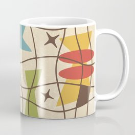 Mid Century Modern Abstract Pattern 571 Coffee Mug