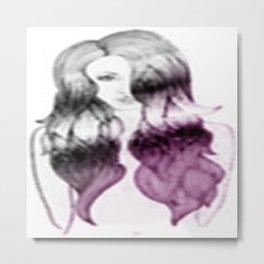 Fade Away 2.0 Metal Print