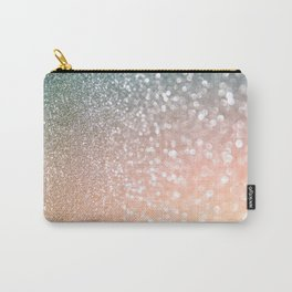 Rosequartz Rose Gold glitter - Pink Luxury glitter sparkling design Carry-All Pouch