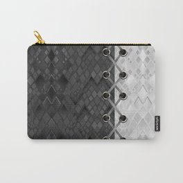 Lacing . 1 . Black and white snake. l Carry-All Pouch