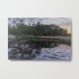 Shallotte Lake Metal Print