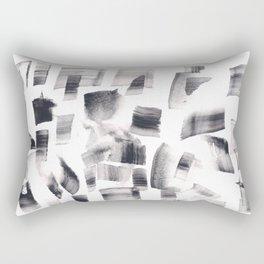 180515 Watercolour Abstract Wp 15   Watercolor Brush Strokes Rectangular Pillow