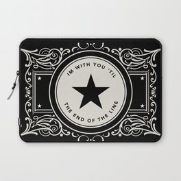 The End Of The Line Laptop Sleeve