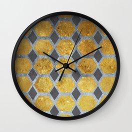 All That Glitters Wall Clock