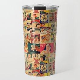 Retro Ads Travel Mug