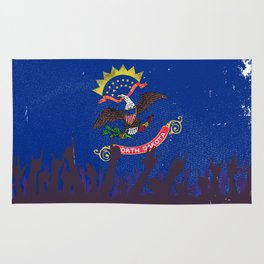 Virginia State Flag with Audience Rug