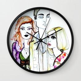 pout Wall Clock