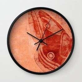 Moths 1 Wall Clock