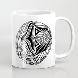 Zentangle Circle Coffee Mug