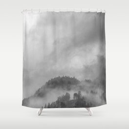 Moody clouds 5 Shower Curtain