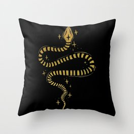 s e r p e n t i n e Throw Pillow
